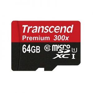 Transcend microSDXC 64GB Class 10
