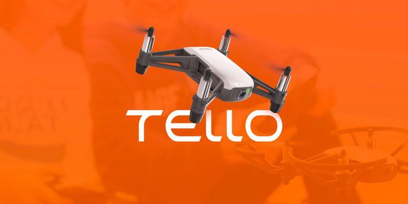 Ryze Tello создан для удовольствия