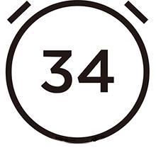 34 min