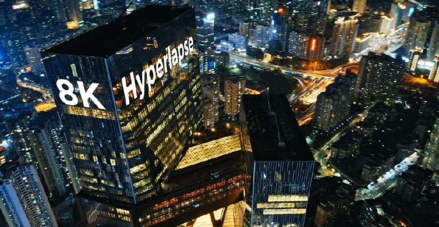 8K Hyperlapse