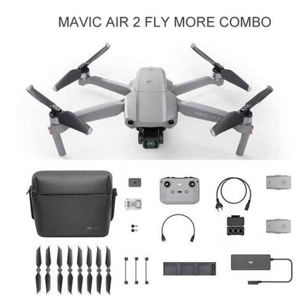 DJI-Mavic Air 2 fly more combo