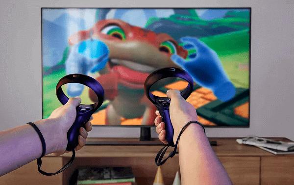 Oculus rift s controllers