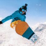 Snowboarding insta360