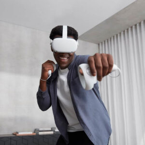 oculus quest 2 on