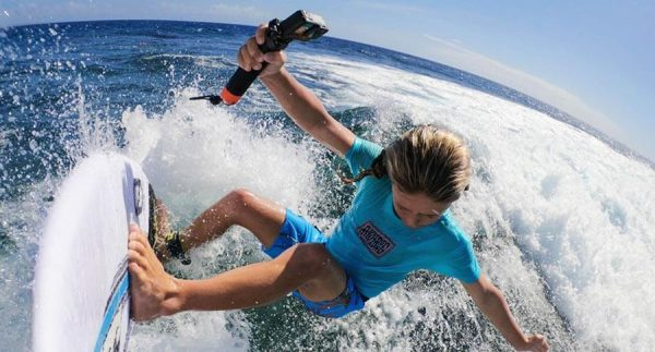 gopro handler surf