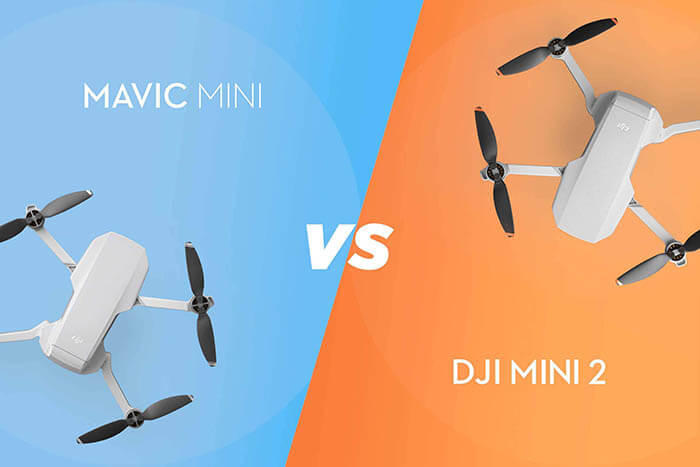 compare dji mini 2 vs mavic mini