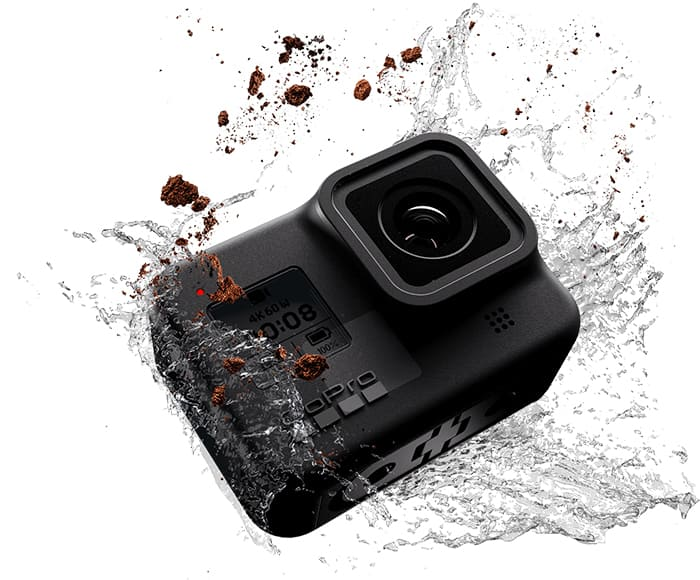 gopro hero 8 black waterproof