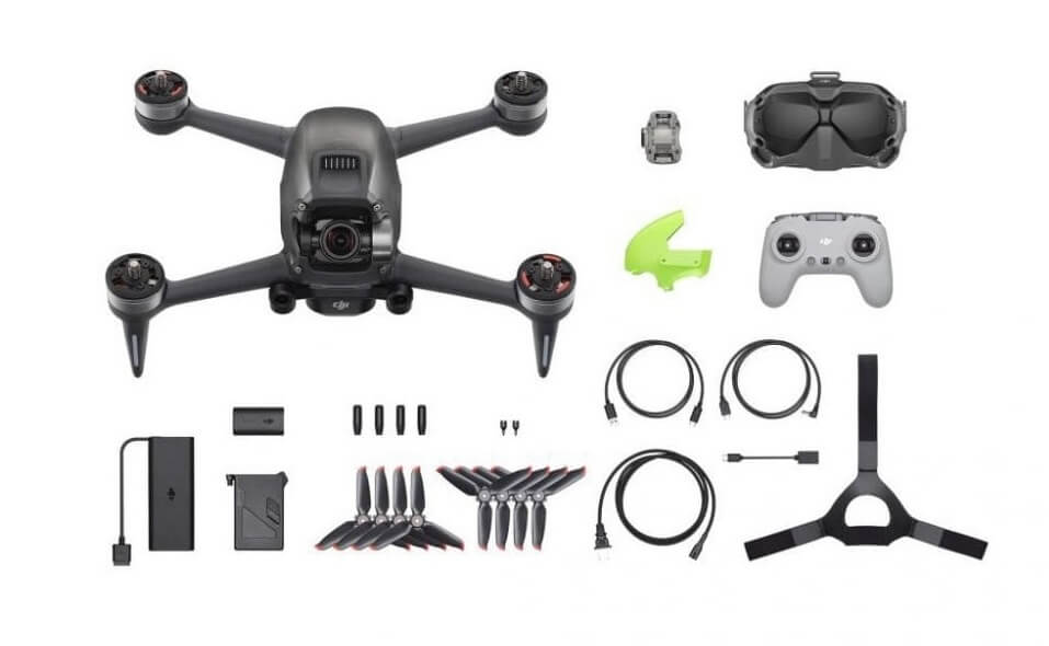 DJI FPV drone Combo in box