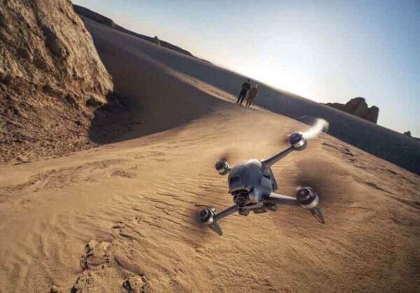 DJI FPV drone photo